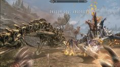 Attacked by two dragons next to Dragontooth Crater die side by side.