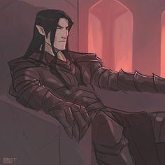 Sketch of Melkor