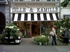 My favorite homeware store while living in Brussels. Dille and Kamille; Black and White seems to follow me.