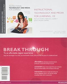 Pin by 9plr on educational ebooks pinterest pdf instructional technology and media for learning enhanced pearson etext access card 11th fandeluxe Choice Image