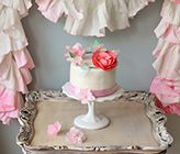 DIY Cake Crown and Paper Towel Garland This is so creative!