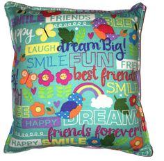 Diversión de verano almohada Linda franela suave almohada niño