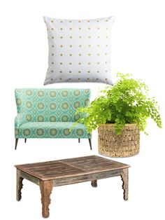 For a bohemian update, add earthy accents and bold patterns.