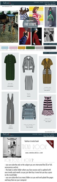 All fashion trends SS 2018 are already at modacable.com....follow us for more!!!