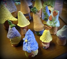 Cassie Stephens - Clay gnome homes with step by step instructions