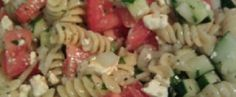 Greek Pasta Salad & Greek Salad Dressing : Redibles