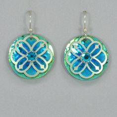 Holly Yashi Abbey Earrings - Turquoise / Green