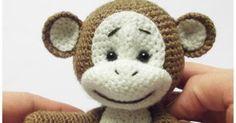 Free monkey crochet pattern