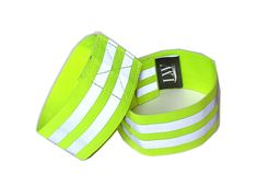 LW Reflective Wristband (Pair) with Bonus reflective sticker (Wristband - Yellow). LW Yellow High Visibility Reflective Elastic Wristband for Running Jogging Walking Biking Cycling. 2 inches wide, with two reflective stripe running across, making you more visible. Velcro closure, fully adjustable. Wristband fits up to 9 inch wrist; Ankle band fits 8 to 13 inch Ankle/Arm. Be seen, be safe. 360 degree of visibility. Unisex, works for both adults and kids. Highly reflective, can be seen from...
