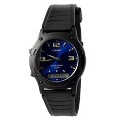 Buy Casio - Casio Bluish Retro Watch for only Shop at Trendhim and get returns. We take pride in providing an excellent experience. Retro Watches, Boys Watches, Wrist Watches, Men's Watches, Luxury Watches, Retro Mode, Bracelet Cuir, Blue Band, Beautiful Watches
