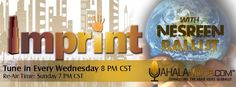 Make sure to check out my new show 'Imprint' on Wednesdays at 8:00 pm CST! I will be interviewing prominent individuals all across the globe that have left a major impact through their hard work and dedication.  Stay tuned to Yahala Voice to find out who my first guest will be... You won't want to miss it!  The show also re-airs every Sunday at 7:00 pm CST.  Www.yahalavoice.com