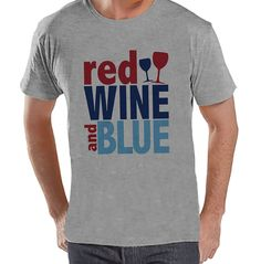 Now available on our store: Custom Party Shop.... Check it out here! http://7ate9apparel.com/products/custom-party-shop-mens-red-wine-blue-4th-of-july-grey-t-shirt?utm_campaign=social_autopilot&utm_source=pin&utm_medium=pin