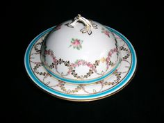 Minton Handpainted AND Gilt Muffin Dish AND Cover Dated 1861 IN Mint Condition | eBay