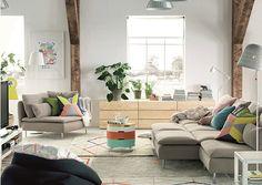 Vardagsrum - IKEA-katalogen 2015. Living room - IKEA-catalog 2015.