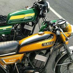 Ferro Velho Motos  Antigas : Yamaha World