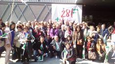 https://flic.kr/s/aHsmbQDdFw | 28F 2018 | Cartaya, El Rompido y Nuevo Portil conmemorando el 28F en Sevilla. Jornada de convivencia y visita al Museo del Vino.