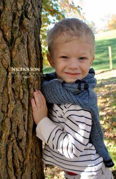 I love this kid's smile.