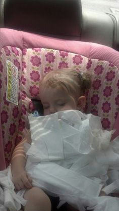 The wipes attacked Peyton while she slept hehe