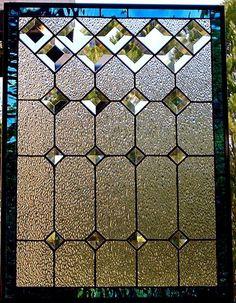 Vitral ventana Panel bisel clásico tomar pedidos