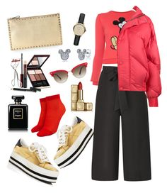 Untitled #3 by melaluuh on Polyvore featuring polyvore, fashion, style, Marc Jacobs, Ienki Ienki, Forever 21, Valentino, Disney, Burberry, Gucci, Kevyn Aucoin, Guerlain, Chanel and clothing