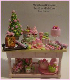 Christmas - Miniatures Dollshouse www.etsy.com/pt/shop/MiniaturaBrasileira Ivani Grande