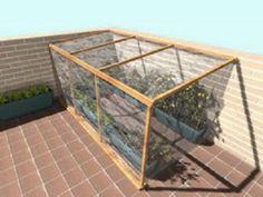 Small Greenhouse, Hacks Diy, Ideas Para, Diy And Crafts, Home And Garden, Backyard, Indoor, Exterior, Cool Stuff