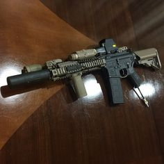 Put together another mk18 setup using spare attachments I have lying around…