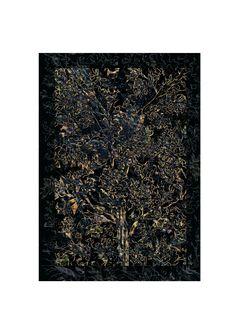 flower power, textil design Kinga Kubiak