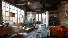 Brooklyn NYC Loft! by Yaroslav Kushta | Architecture | 3D | CGSociety