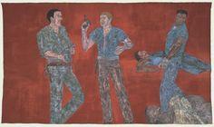 leon golub   Leon Golub, 'Riot II' 1984, acrylic on linen (photo courtesy of: http ...