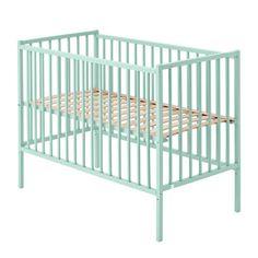 Babybett Rémi 60x120 cm - minzgrün Combelle Baby- Große Auswahl an Design auf Smallable, dem Family Concept Store – Über 600 Marken.