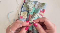 Škola pletení - splétání dvou dílu k sobě