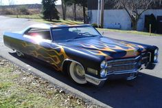 Cadillac Coupe DeVille Stretched Limousine