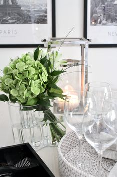 dinner time | Iittala Happy Sunday, My Dream Home, Home Goods, Glass Vase, Centerpieces, Vanilla, Sweet Home, Table Settings, Aesthetics