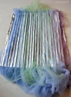 Изучаем метод валяния складок, рюш и воланов - Ярмарка Мастеров - ручная работа, handmade