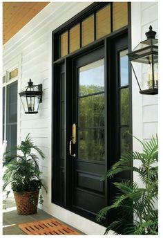 Andersen front door.