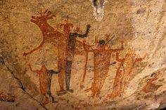 cave paintings | Cueva de Las Flechas: Baja Cave Paintings: Baja Photographer.com