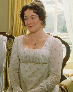 Pride and Prejudice, 1995. Jennifer Ehle as Elizabeth