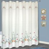 Found it at Wayfair - United Curtain Co. Seashell Polyester Shower Curtain