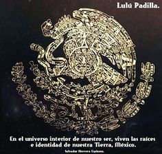 """In the inner world of our being, our roots and identity are of the Earth , Mexico ."" ~ Salvador Herrera Espinosa <3 lis"