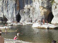 photos touristiques - Le Chassezac - Baignade