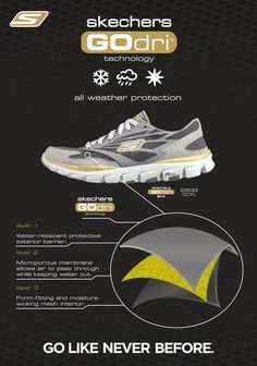 reputable site eef8d 62820 Skechers GOdri all-weather performance footwear is now available on skechers .com.