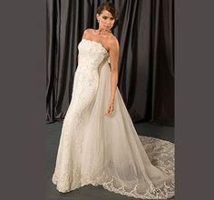 Enkel Brudklänning