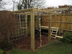 Creative and Cute Backyard Garden Playground for Kids (5)