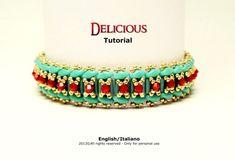 Tutorial Delicious Bracelet  beading pattern por FucsiaStyle