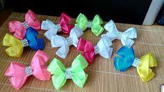 Мини-бантики из остатков лент/Бантики из ленты 2.5 см/Mini bows - YouTube