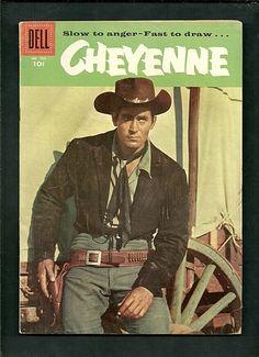 Cheyenne comic based on the early tv western starring Clint Walker