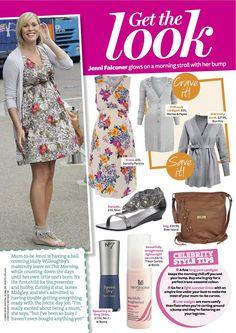 PRINT - Practical Parenting & Pregnancy September 2011: Celeb pregnancy fashion – Jenni Falconer