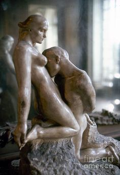 """Rodin: Lovers """"Lovers don't finally meet somewhere. They're in each other all along."""" Rumi"""
