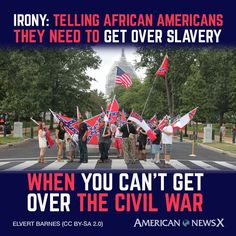 Almost every nationality was enslaved by one another at some point. No one should get over it. We should be embarassed that families fought eachother in the Civil War after we had legislation in place to be used instead.